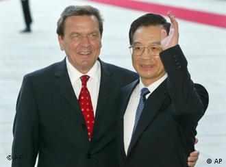 Schröder's staunch support for China is slowly alienating supporters