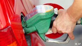 Jahresrückblick 2008 International Juli Zapfsäule Benzin Tanken in Deutschland
