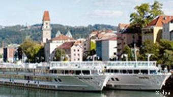 River boats on the Danube
