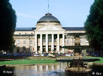 Kurhaus en Wiesbaden