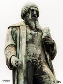 Galerie Bundesländer - Johannes Gutenberg-Denkmal in Mainz