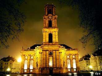 La iglesia de Ludwigskirche en Sarrabrucken