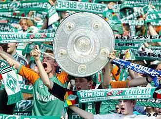 Футбольная команда вердер германия бремен