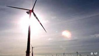 Offshore Windenergie Meer Blåvandshuk in Dänemark