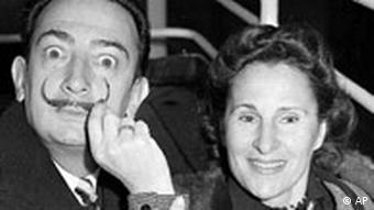 Salvador Dali und seine Ehefrau und Muse Gala
