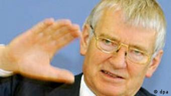 Bundesinnenminister Otto Schily