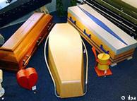 Various coffins