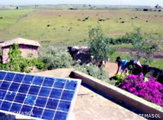 Solar panels give this Moroccan village clean and affordable electricity.