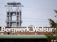 Mina Walsum, en Duisburg, cerrada en 2009.