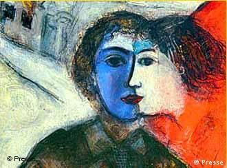 Картина Шагала Наездница