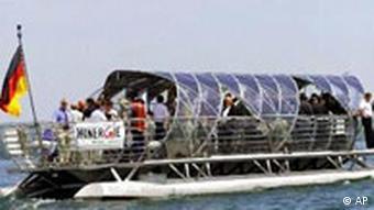 Solarschiff Helio am Bodensee