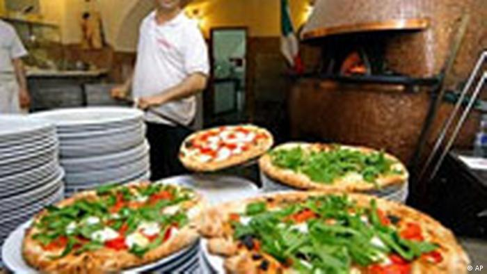 Pizza Napoli wird normiert (AP)