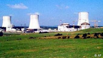 A nuclear power plant in Cattenom in eastern France