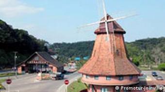 180 Jahre Deutsche Einwanderung in Brasilien Windmühle Joinville