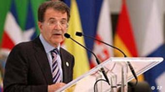 EU Lateinamerika Gipfel in Mexiko Romano Prodi