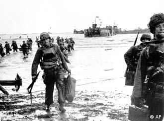 Allied troops landed in June 1944 in Normandy to rout the Nazis