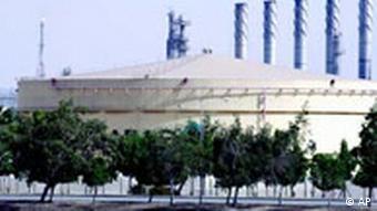 Ölanlage in Saudi-Arabien