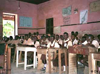 Eine Schule in Ghana