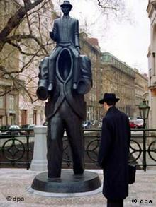 Franz-Kafka-Denkmal in Prag