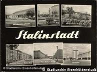 Antiga Stalinstadt, hoje Eisenhüttenstadt