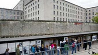 Gedenkstätte Topographie des Terrors in Berlin Kreuzberg