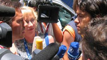 Michael Ballack DW-TV PortugalImpressionen Portugal DW-Mikro