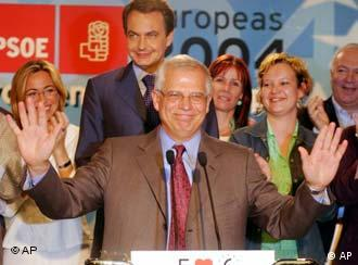 Josep Borrell debuts in Strasbourg as parliamentary president.