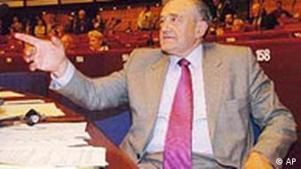 Terry Davis, neuer Generalsekretär des Europarates