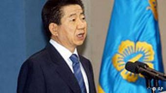Der südkoreanische Präsident Roh Moo Hyun, Seoul