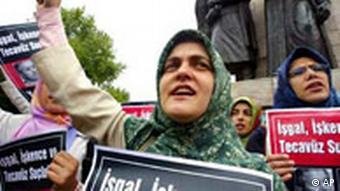 Anti USA Demonstration in der Türkei