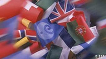 ESA: European Flags
