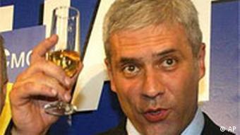 Boris Tadic, Serbia's president