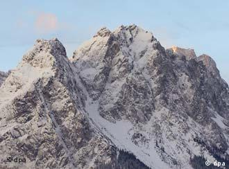 Germany's highest summit: The Zugspitze