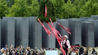 Richtfest des Holocaust-Mahnmals in Berlin