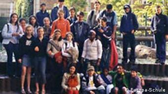 Sechste Klasse der Europa-Schule Berlin