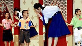 AIDS Konferenz in Bangkok Kinder