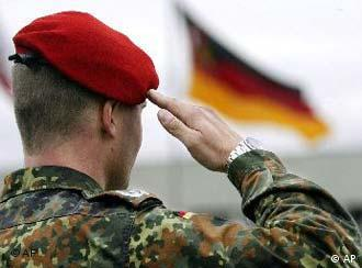 All of sudden, German soldiers were saluting just one flag