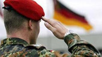 Ein Soldat der Bundeswehr