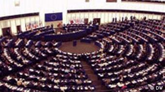 Sitzungssaal des EU-Parlaments