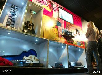 The museum looks at popular music from the 19th century to today