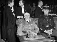 Pétain perante o tribunal