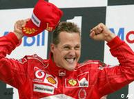 Michael Schumacher en el Gran Premio de Hockenheim, 2004.