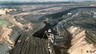 Industrie Russland - Kohleabbau in Sibirien