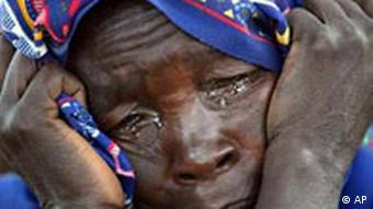 Frau aus Darfur