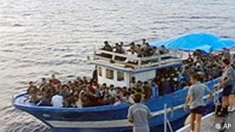 Lampedusa Immigranten Flüchtlinge