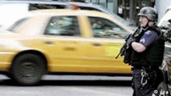 USA verstärken nach Terrorwarnung Sicherheit von Finanzzentren