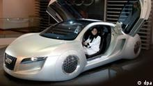 Futuristischer Audi spielt in US-Film I, Rotot