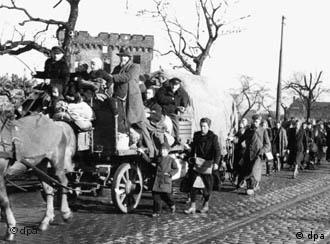 More than 15 ethnic Germans were forced to flee the east after 1945