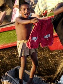 Hilfe erreicht Bangladesch