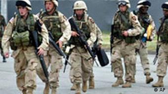 Verstärkungen für den Irak
